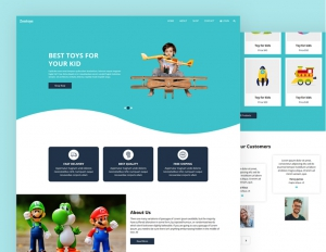 Zoutoys Toys  Bootstrap free template