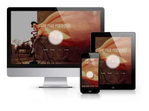 Photographer - One Page Portfolio Template