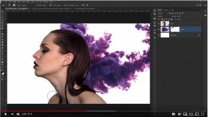Photoshop Tutorial: Powerful Ink, Smoke Portrait