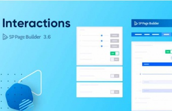 Introducing Interactions - The Magic Wand to Make Your Site Lively with SP Page Builder 3.6