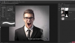 Dispersion Effect: Photoshop Tutorial